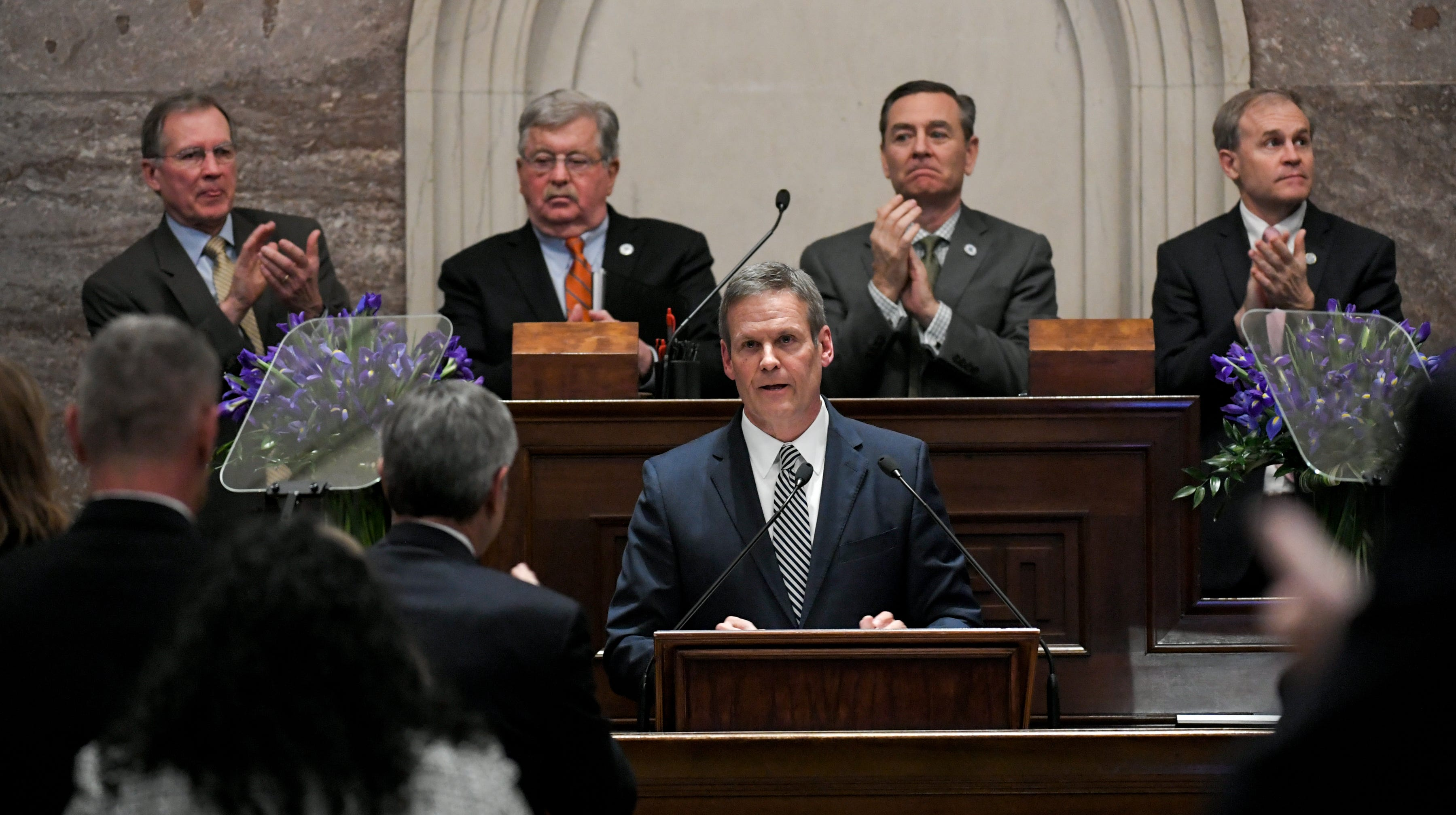 Gov. Bill Lee opts to accept state salary; former campaign aides join ranks of Tennessee government