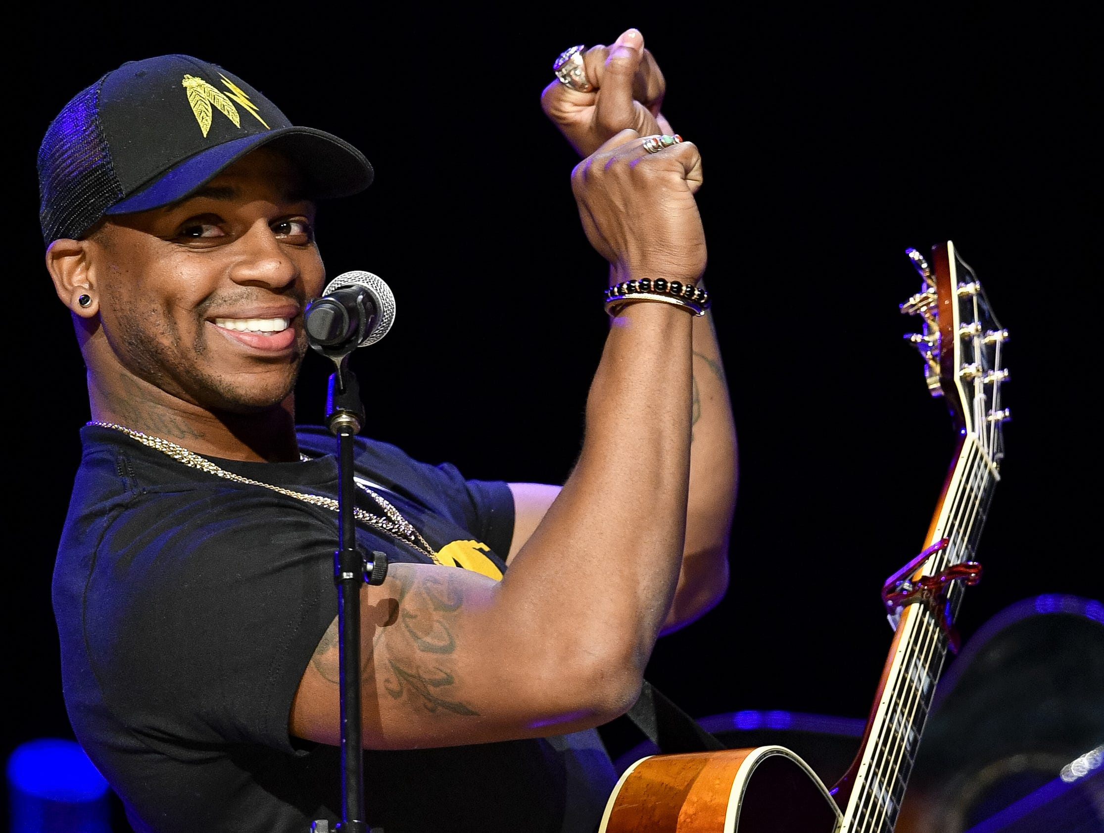 Jimmie Allen is scheduled to play the Chevy Riverfront Stage at CMA Fest 2019.