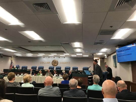 Collier County commissioners held a public workshop at the commission chambers in East Naples, Tuesday, March 5, 2019, to discuss the county's future growth plans.