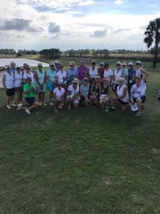 Alico Family Golf had a Women's Golf Day on Saturday, Feb. 9, 2019 with  LPGA teaching professionals June Staton, Debbie Keim and Robin Nigro putting the event together.