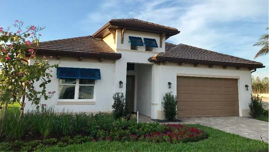 The Cedar Key is the first furnished model within Sapphire Cove, a new residential community just off Collier Boulevard.