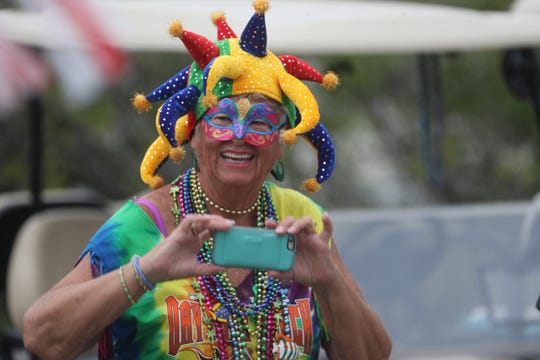 The 35th annual Mardi Gras parade was held at Citrus Park in Bonita Springs on Tuesday 3/5/2019.