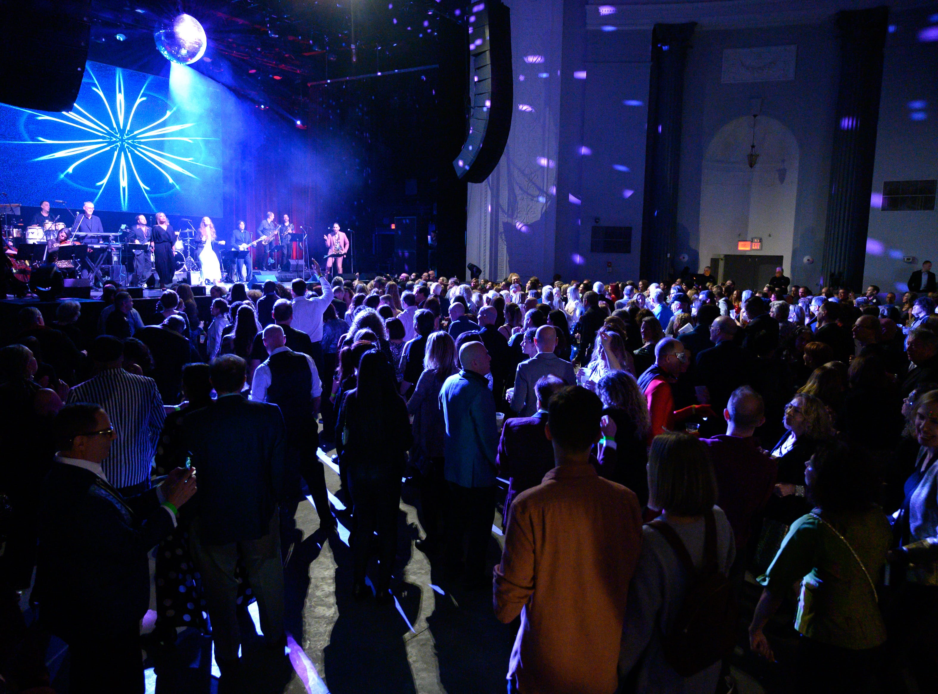 The Montclair Film Festival Glitter Ball: A Dance Floor Celebration Of Soul, R&B And Funk at The Wellmont Theatre. March 2019.