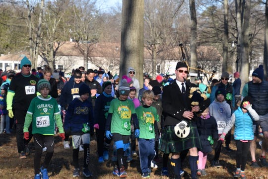 Last year, the first GoodWill Shamrock Shuffle 5k kicks off.