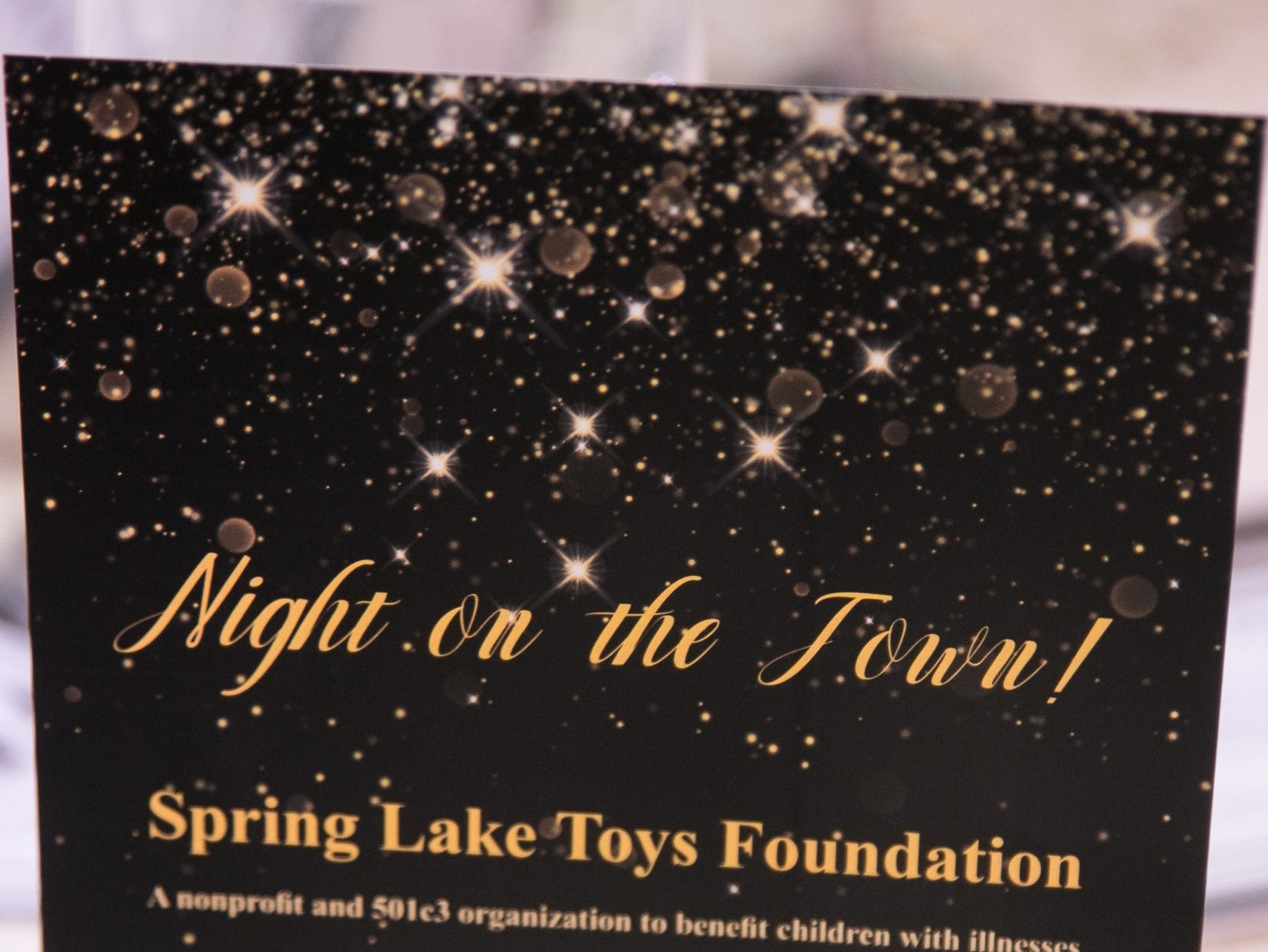 Spring Lake Toys Foundation held it's Night on the Town Gala at Macaluso's in Hawthorne. Money raised benefits children with illnesses to assist in all their financial needs. 03/01/2019