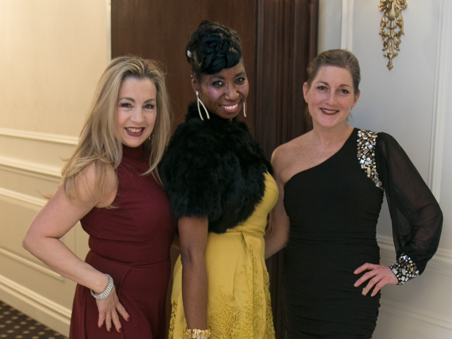 Volunteers- Sandra Introna, Kendra Jones, Marie Costello. Spring Lake Toys Foundation held it's Night on the Town Gala at Macaluso's in Hawthorne. Money raised benefits children with illnesses to assist in all their financial needs. 03/01/2019