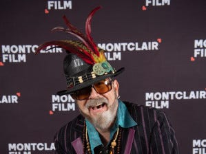Stephen Colbert as R & B artist Dr. John at the Dance Floor Celebration Of Soul, R&B And Funk at The Wellmont Theatre, a benefit for Montclair Film Festival. March, 2019.