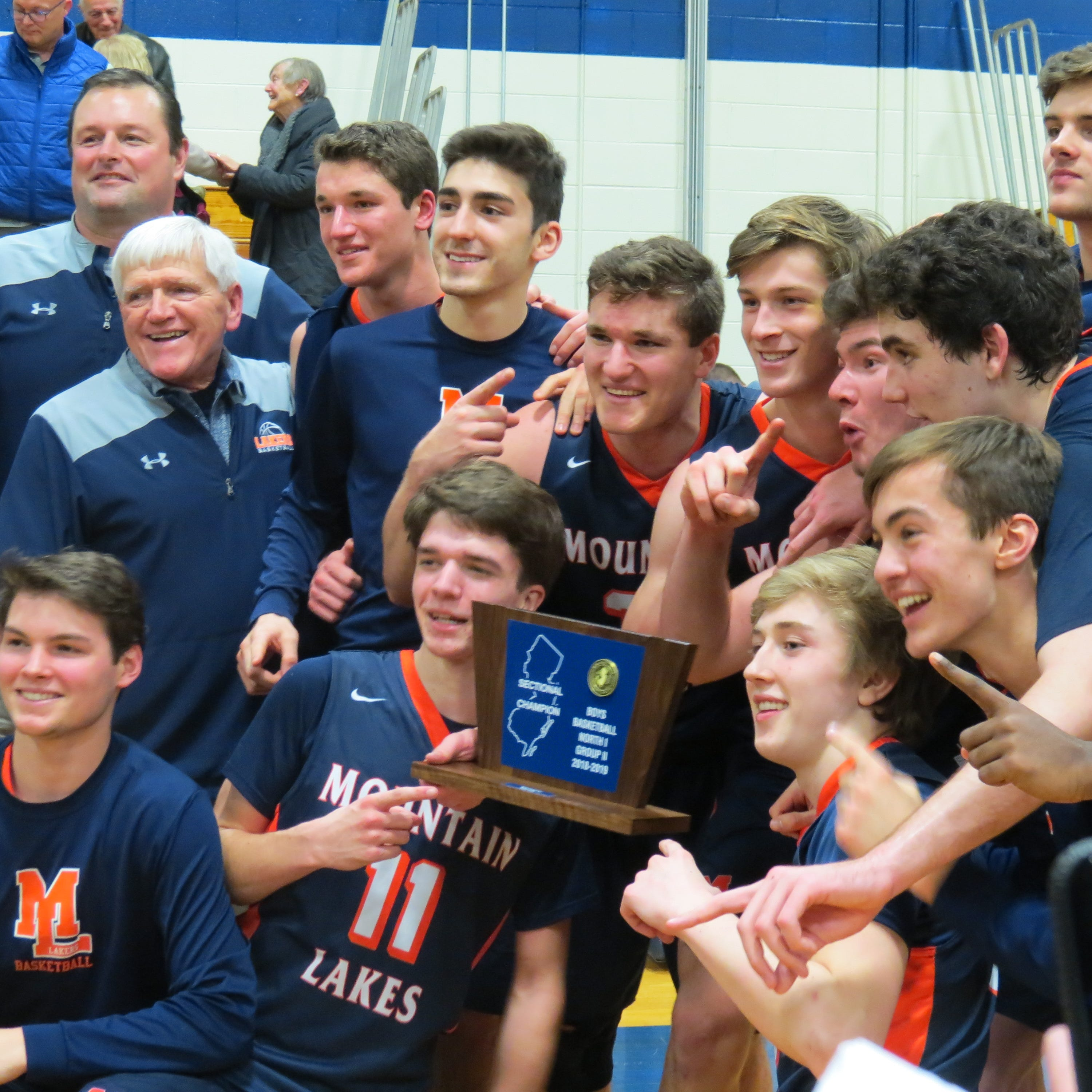 Mountain Lakes boys basketball knocks off defending champion Ramsey in sectional final