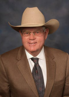 New Mexico State Sen. Pat Woods introduced the bill that would grant anonymity to lottery winners.