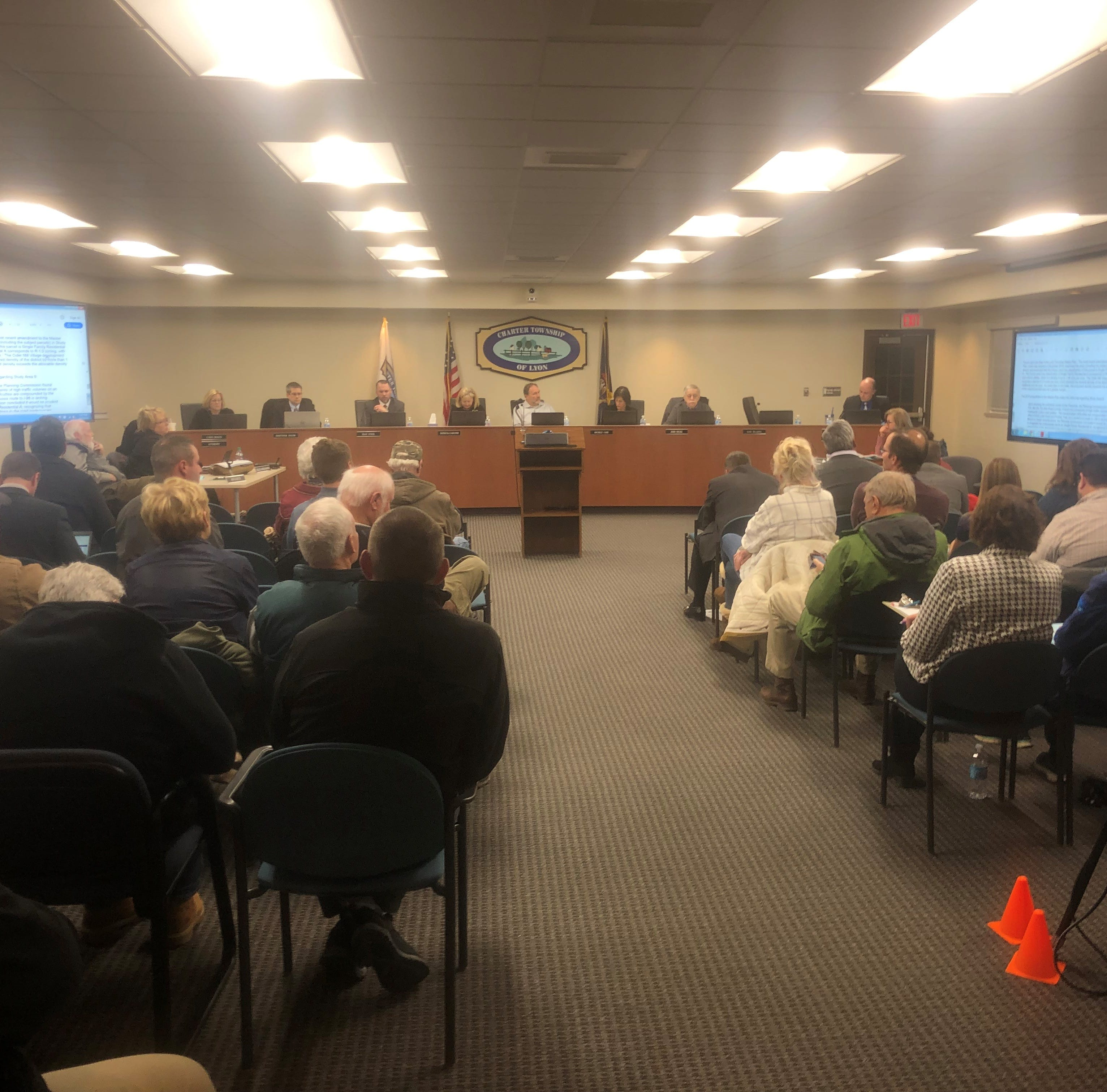 Lyon Township board rejects initial concept to remake Erwin Orchards into dense village