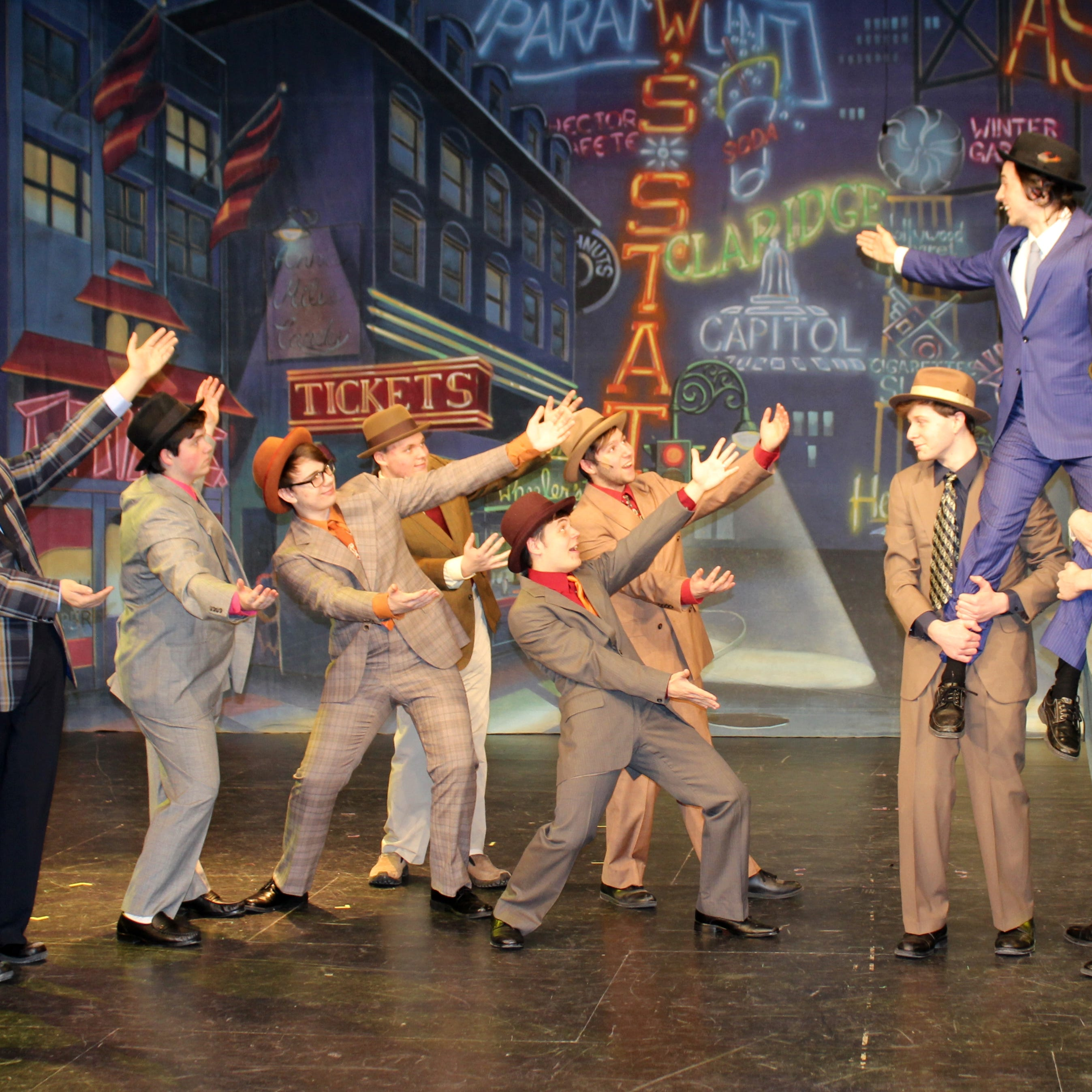 Franklin High School presents 'Guys and Dolls' this weekend