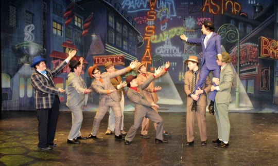 'Guys and Dolls' takes the stage this weekend at Franklin High School.