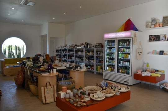 Wine & Rock Shop in Yucca Valley offers boutique bottles of wine plus handmade ceramics, candles, incense and more.