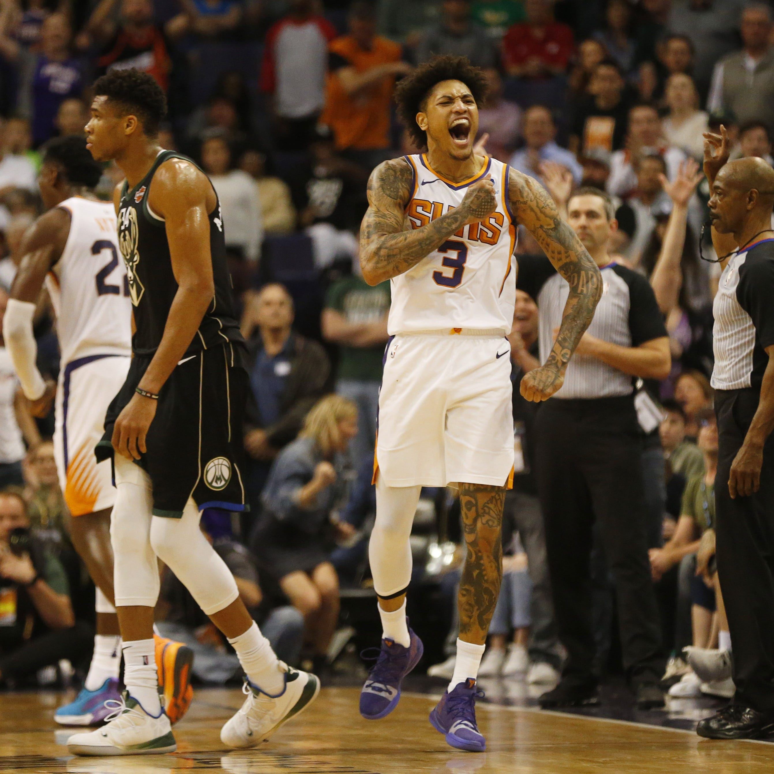 Kelly Oubre Jr. wants to stay with the Phoenix Suns the 'rest of my career'