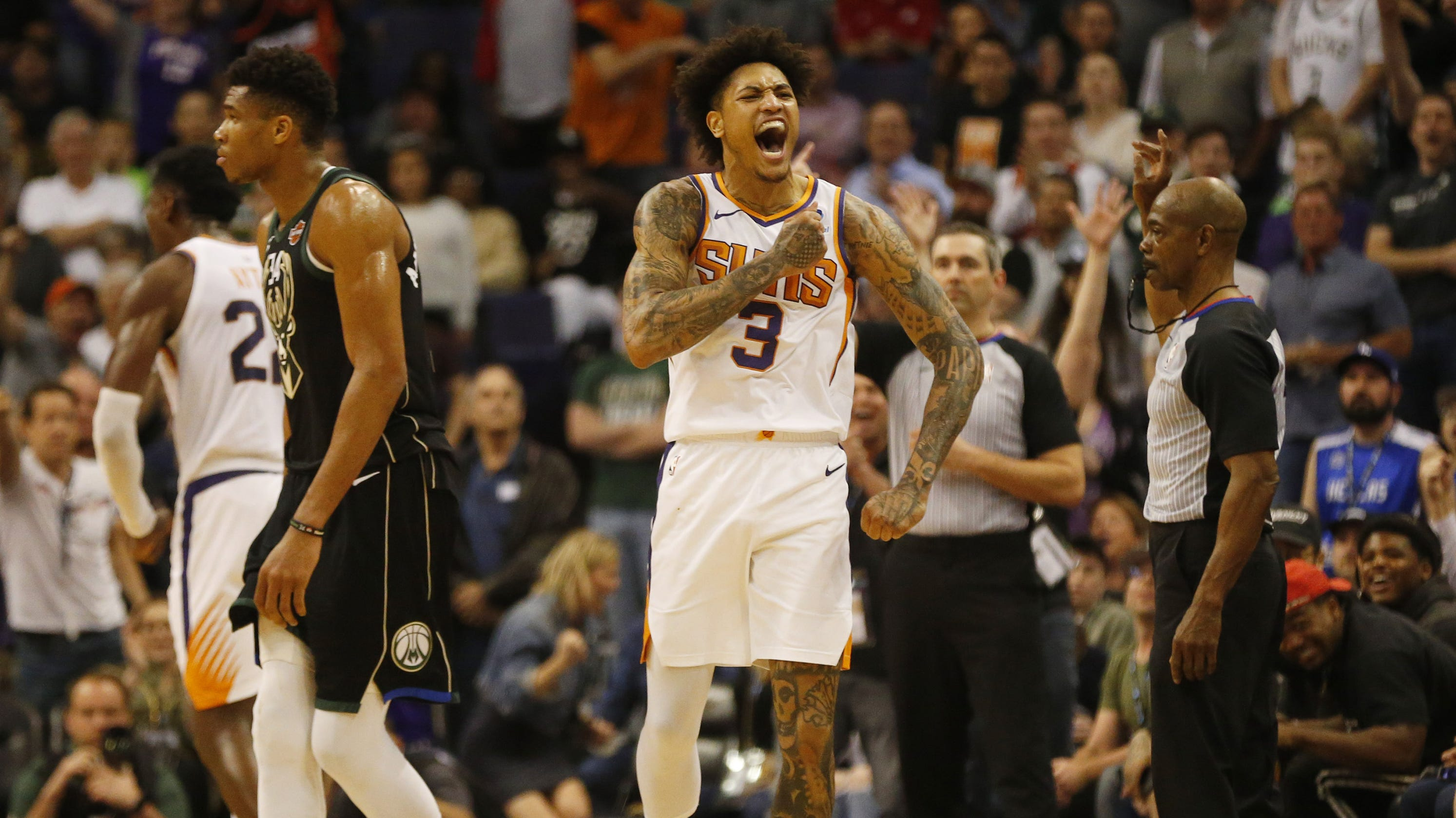 Kelly Oubre Jr. wants to stay with the Phoenix Suns the  rest of my career  d41139c30