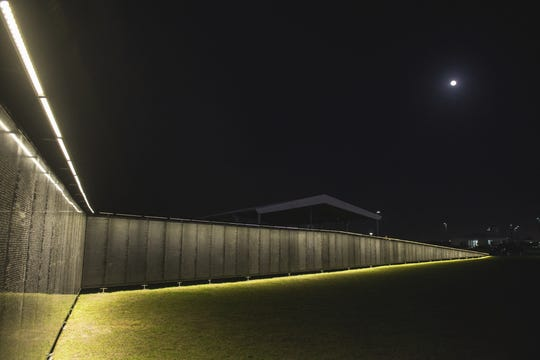 The Wall That Heals will also be accessible at night.