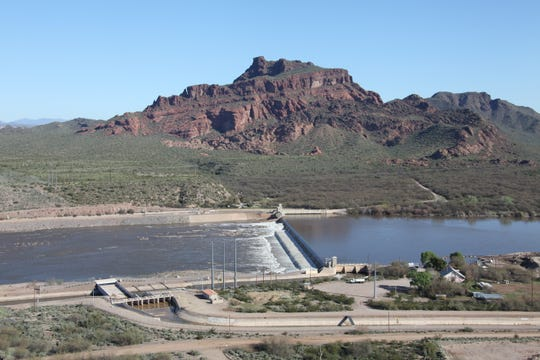 Granite Reef Diversion Dam