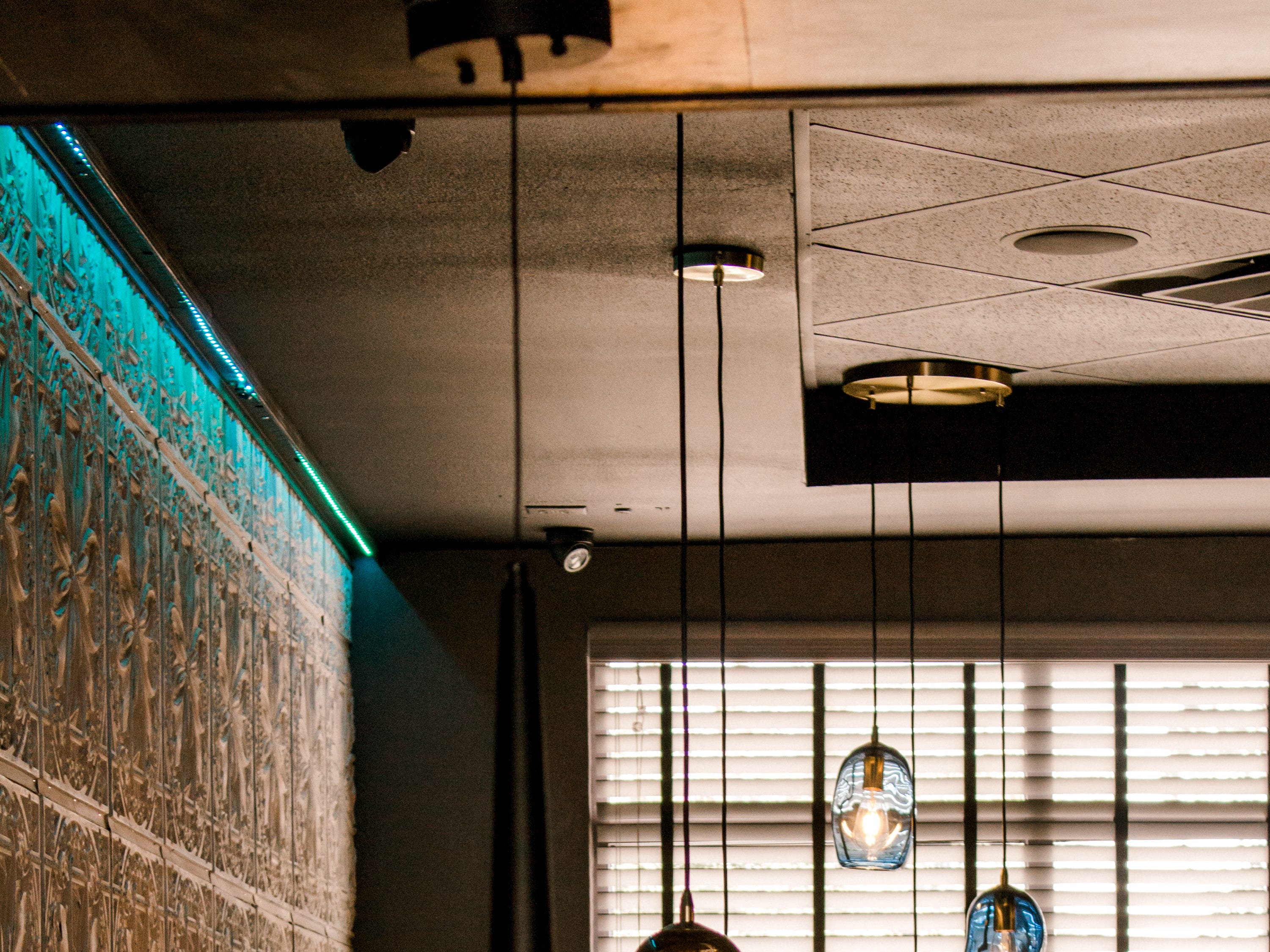 The Social on 83rd features a clean and modern décor.