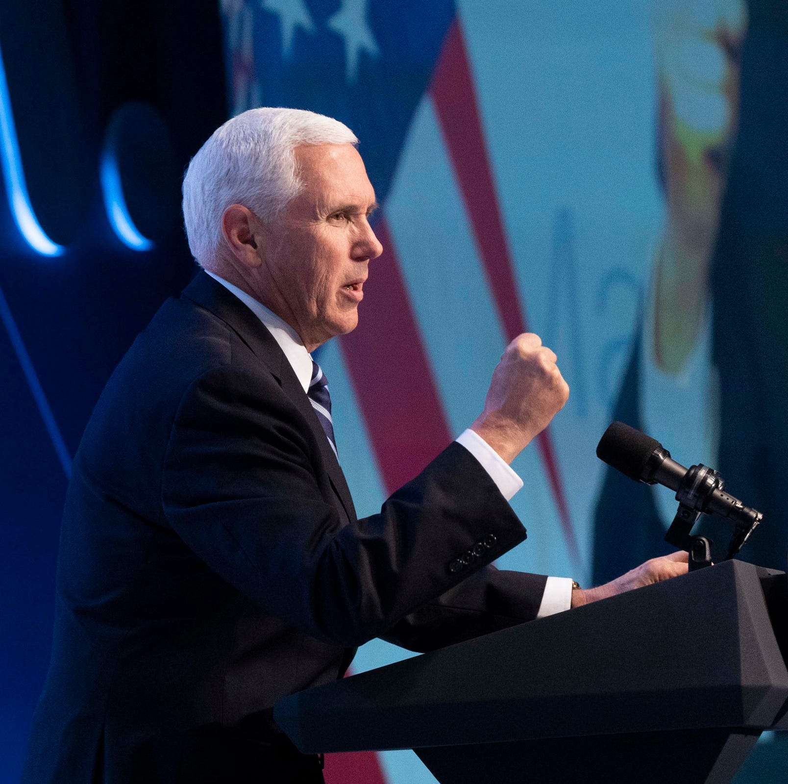 Vice President Mike Pence touts Trump's economic accomplishments during Phoenix stop