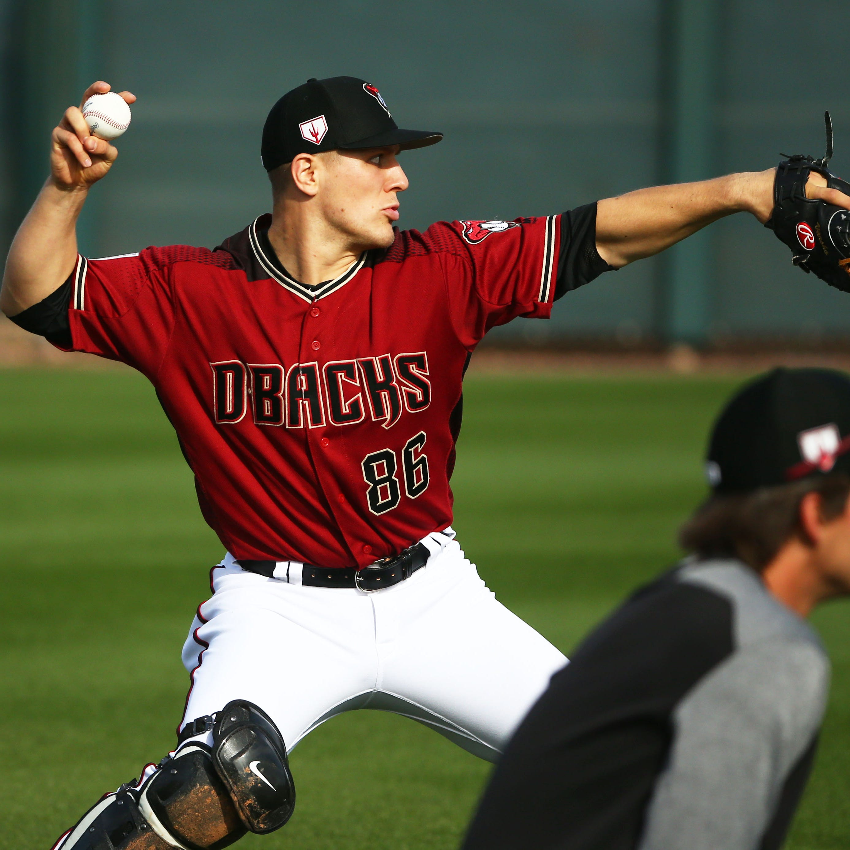 Arizona Diamondbacks prospects create hope for future early in camp