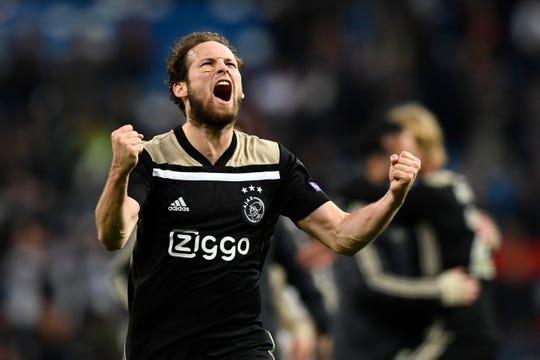 Ajax goleó 4-1 al Real Madrid