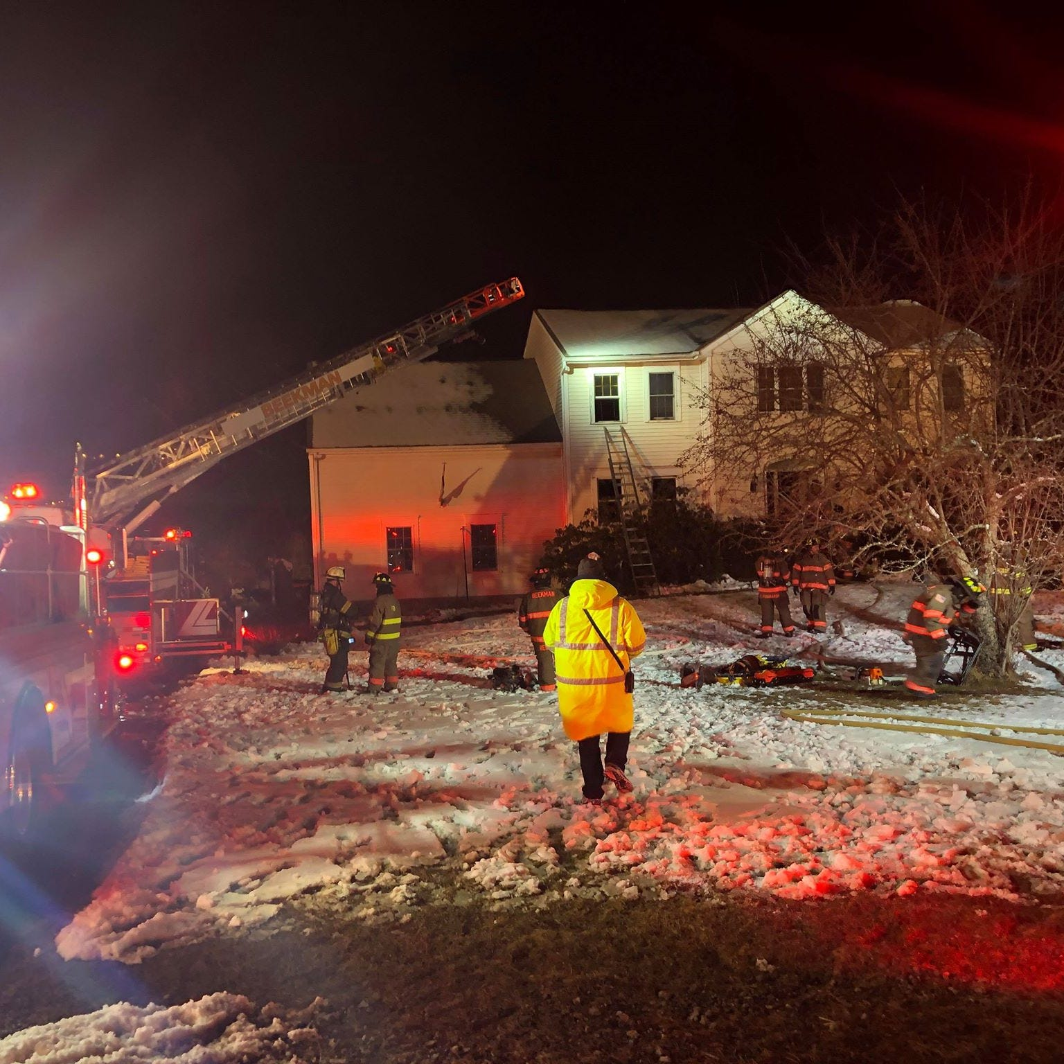 Family pets killed in Beekman house fire: chief