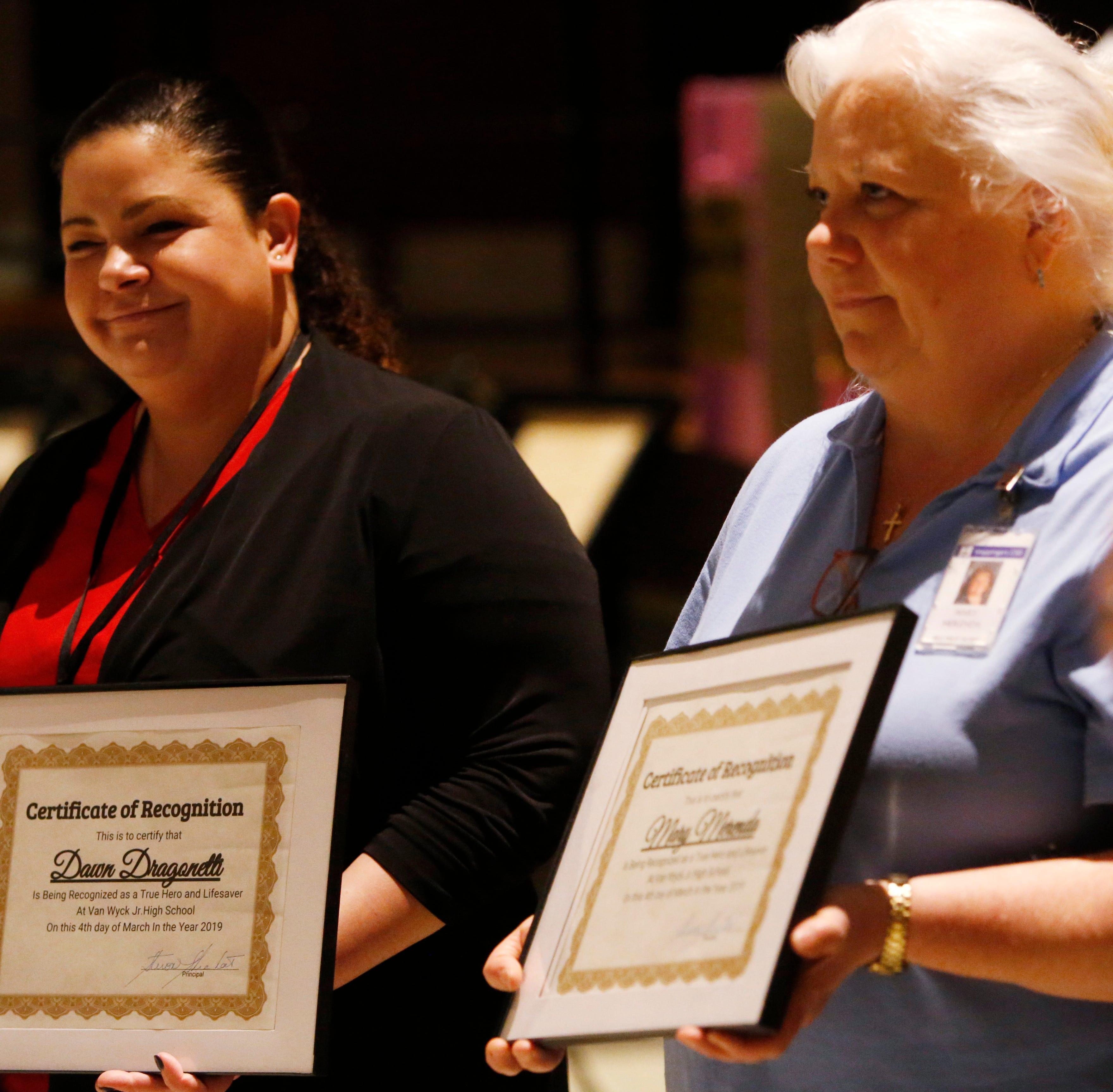 Wappingers school nurses saved Van Wyck mom are 'real, live heroes'