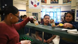 Lincoln Charter School celebrates National School Breakfast Week in York City, Tuesday, March 5, 2019.
