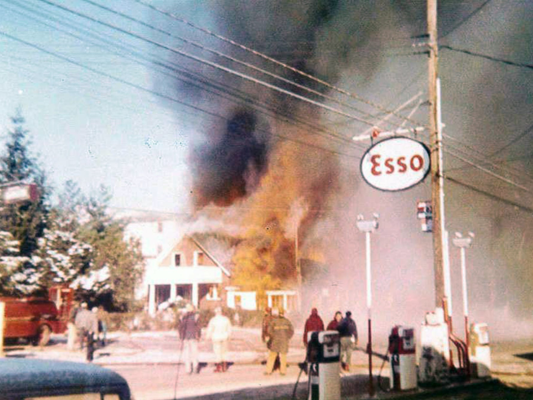 "In February 1958, a disastrous fire destroyed the department store and office building. By August of 1958, the new department store was completed and in operation. Bruce came up with the name ""Smith VillageÓ to denote the entire group of businesses and to promote the idea of a one-stop shopping center."