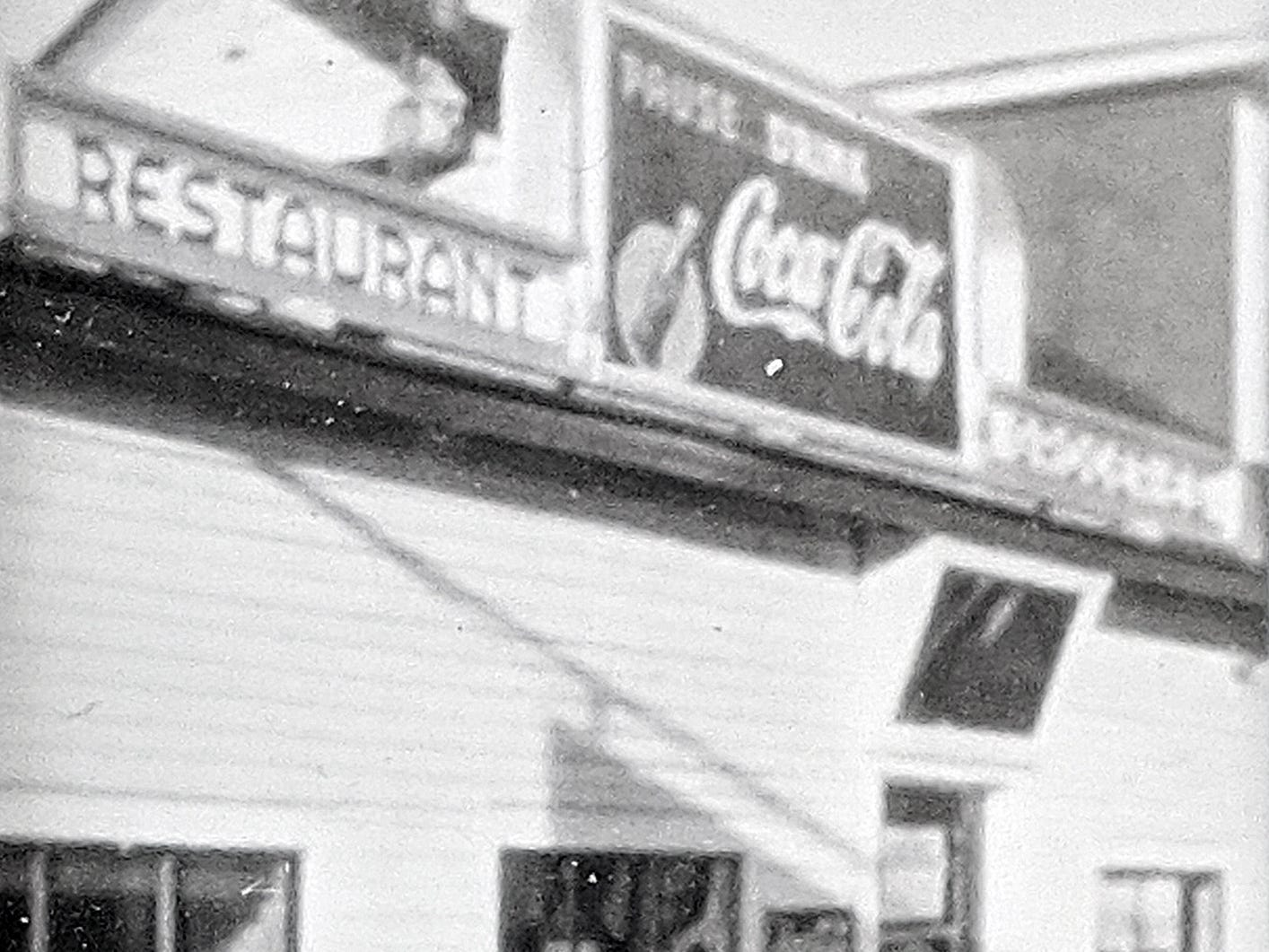 This was Smith's truck stop and diner in Jacobus as it looked in 1940.