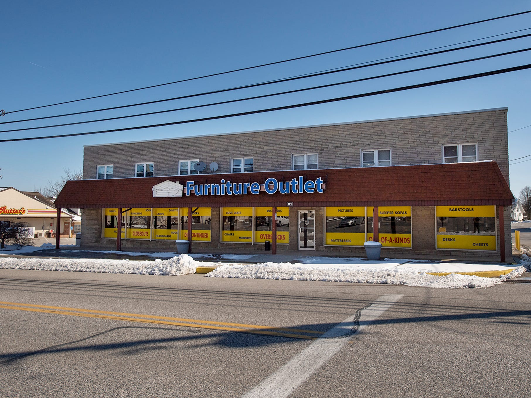 This is the Smith Village Furniture Outlet as it looks in 2019.