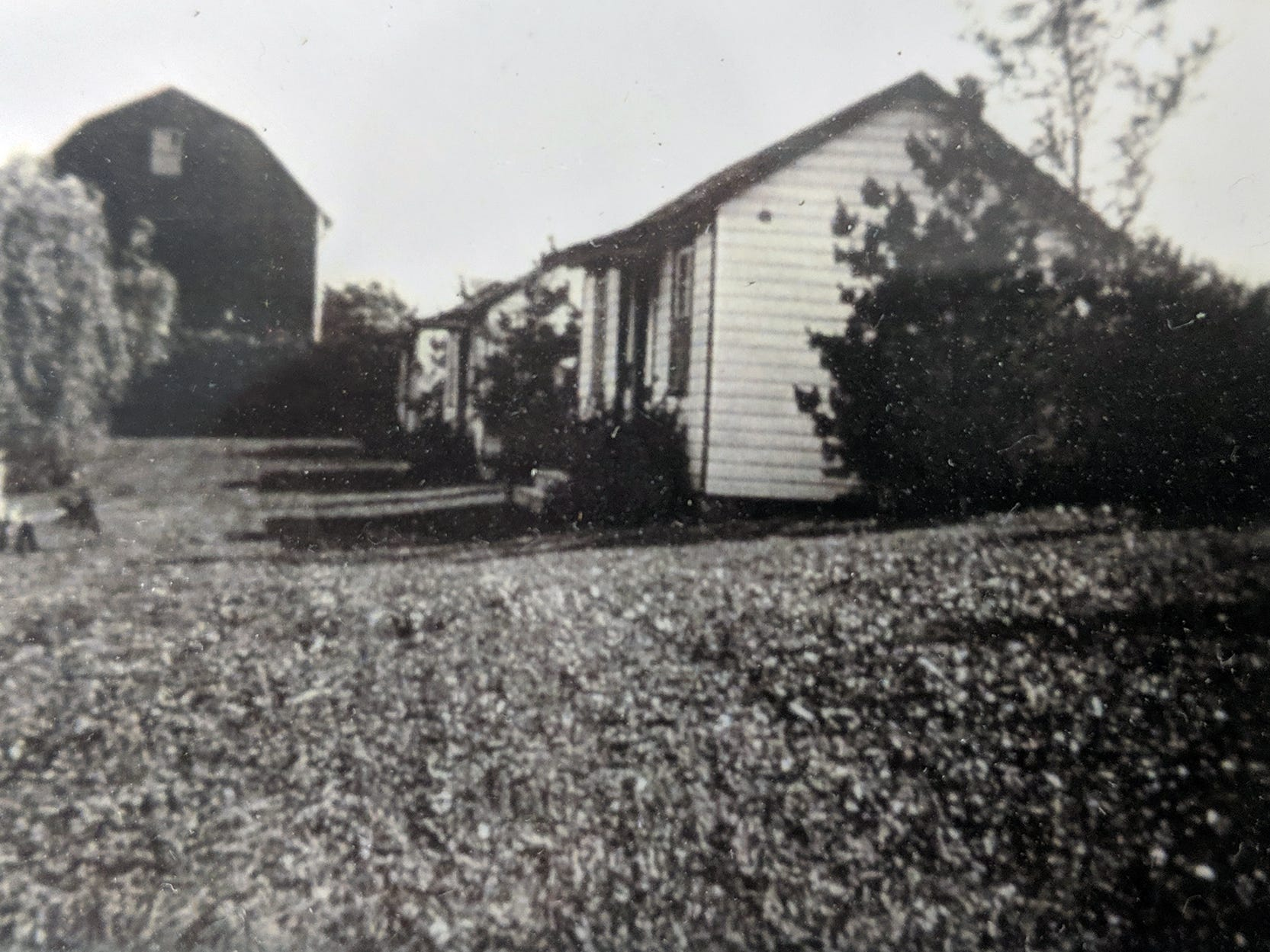 This is the Smith cottages as they looked in 1937.