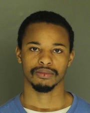 Quincy Hannah, arrested for burglary, strangulation and trespassing.