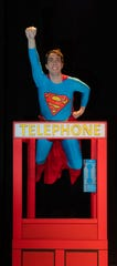 Nick Winger as Superman in the newest TYKES musical production.