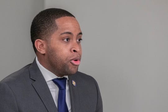 New York State Senator Zellner Myrie, D-Brooklyn, sponsored a bill Tuesday to ban campaign contributions from companies seeking contracts before the state.