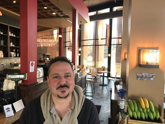 Paul Gersonia, new owner of Cafe 1872