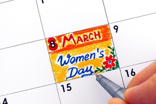 International Women's Day 2019 is March 8.