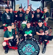 Salem Professional Firefighters Pipes & Drums will visit Magoo's Sports Bar, Gilgamesh Brewing, Bentley's Grill and more locations St. Patrick's Day weekend.