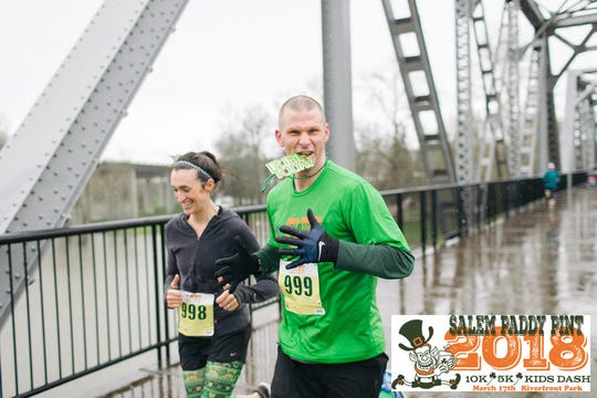 The  Salem Paddy Pint will take place from 10 a.m. to 1 p.m. Saturday, March 16, at Riverfront Park.