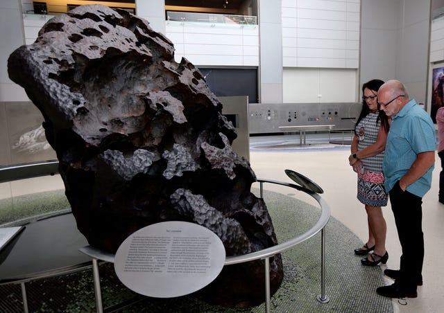 Fragment of sacred meteorite Tomanowos returned to Grand