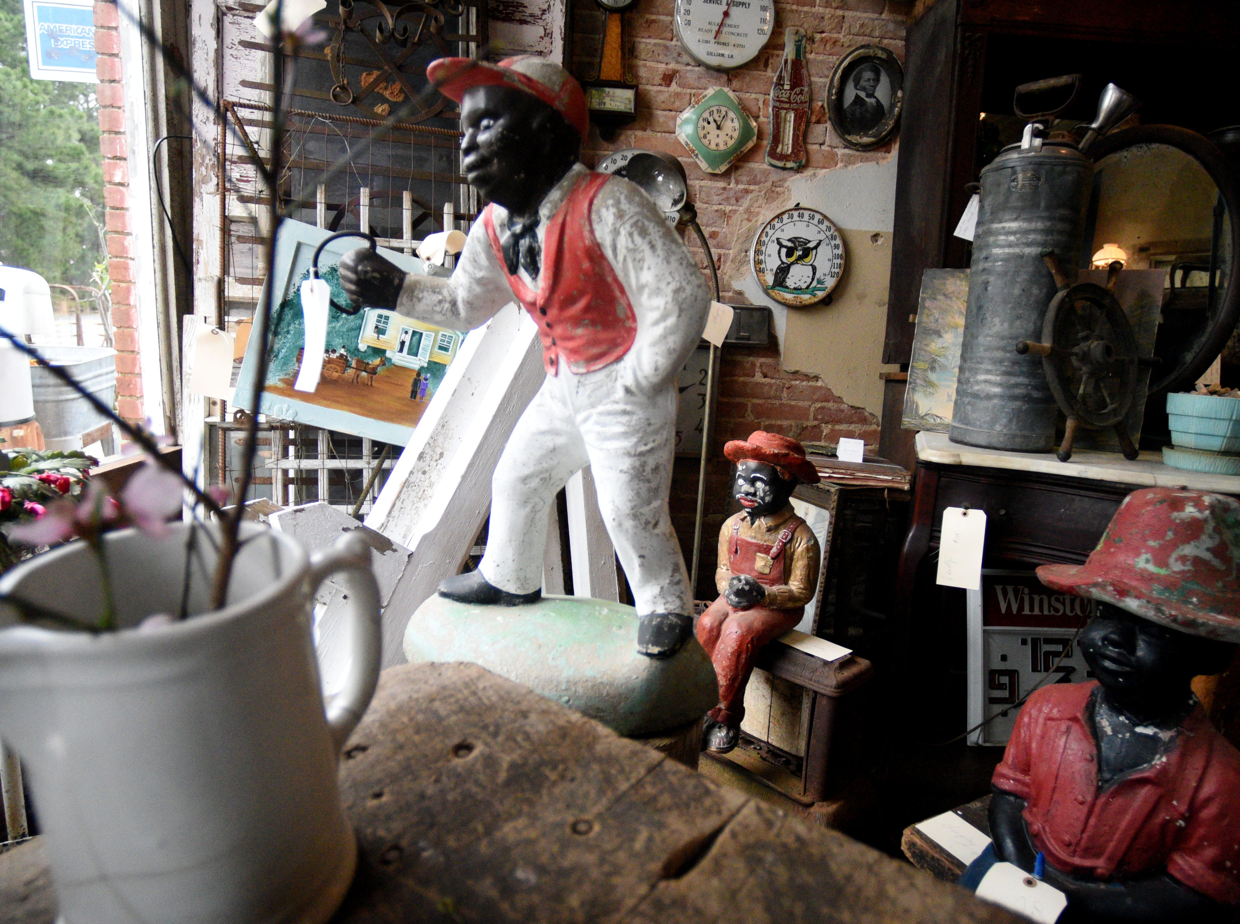 Big Mama's Antiques and Restoration in Hosston, Louisiana.