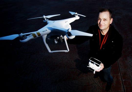 Bo Phillips Owner/Chief sUAS Operator of AeroPro UAV.