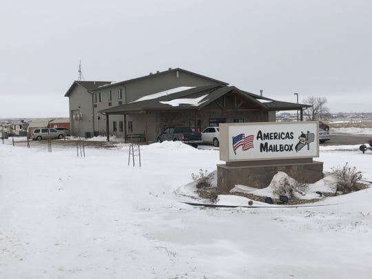 Americas Mailbox is a mail-forwarding and vehicle registration business in Box Elder, and is one of several South Dakota businesses that provide quick residency to clients. Many of those clients then go on to register to vote at the business address even though they don't live there.