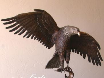 Food Chain Eagle by Bob TenCate