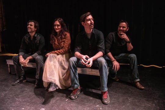 Molly Healey with bandmates Zach Harrison, Kyle Day and Danny Carroll.
