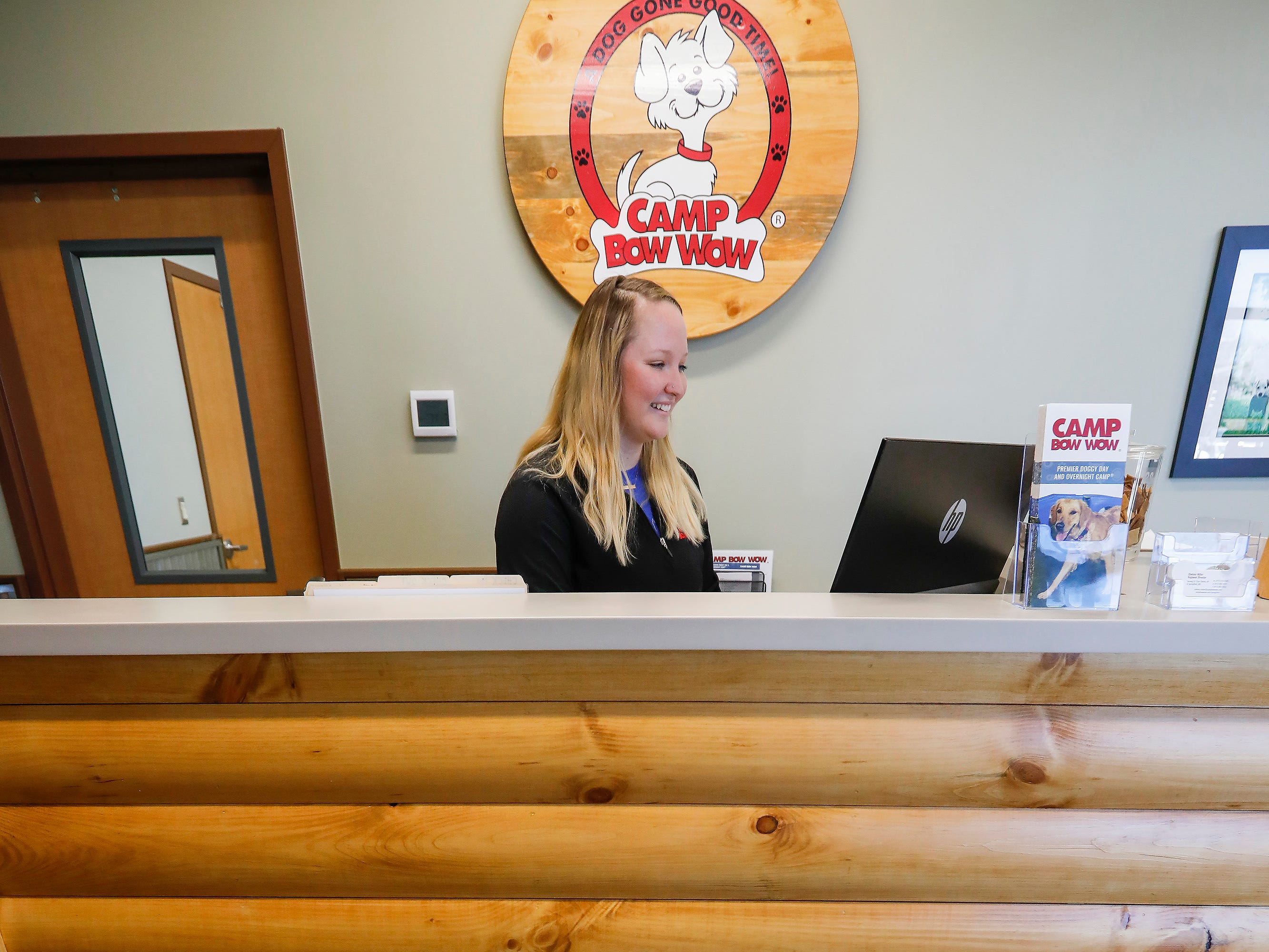 Carson Baron is the manager at the new Camp Bow Wow located at 2814 S. Fremont Ave., Suite 104.