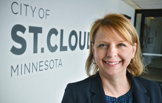 St. Cloud Business Development Director Jennifer Erickson  is pictured Tuesday, March 5, at St. Cloud City Hall.