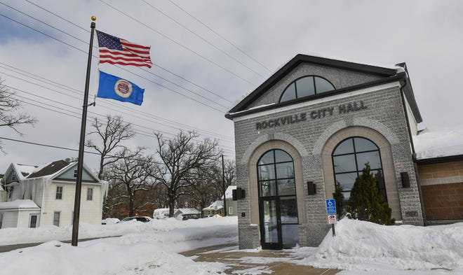 Rockville City Hall is pictured Tuesday, March 5.