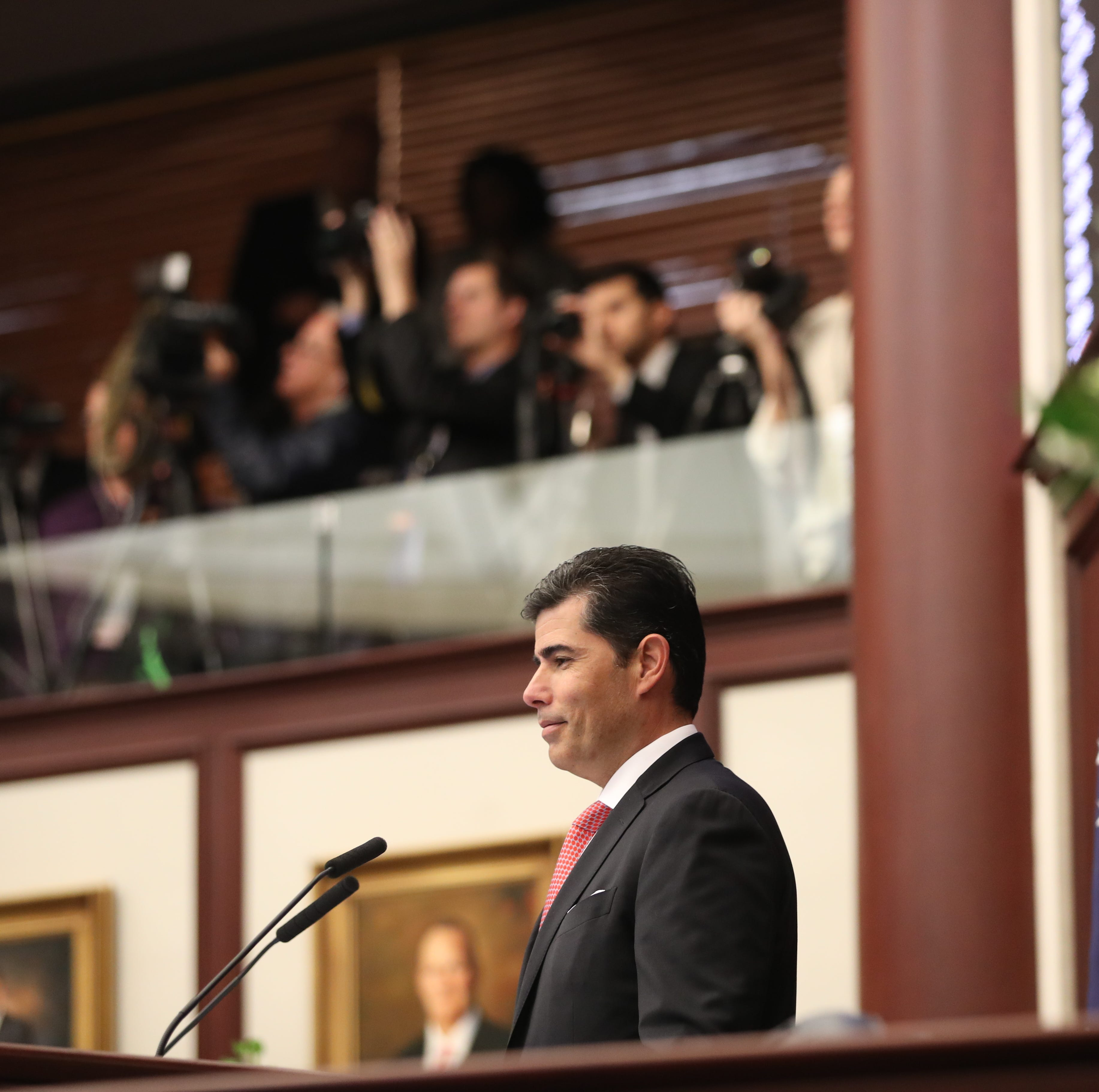 Under pressure: House Speaker Oliva reverses course and agrees to hear firefighter cancer bill