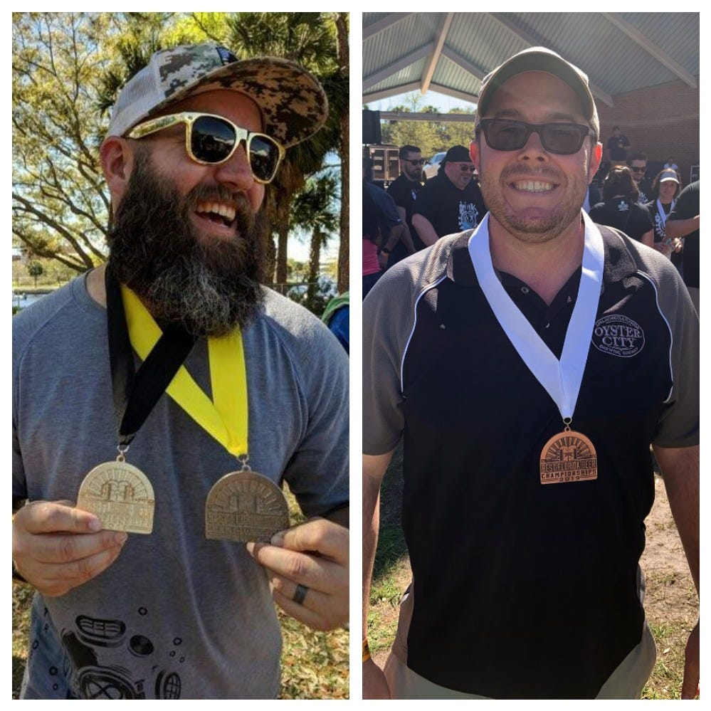 Deep, Oyster City win Best Florida Beer medals | Around the Brew Bend